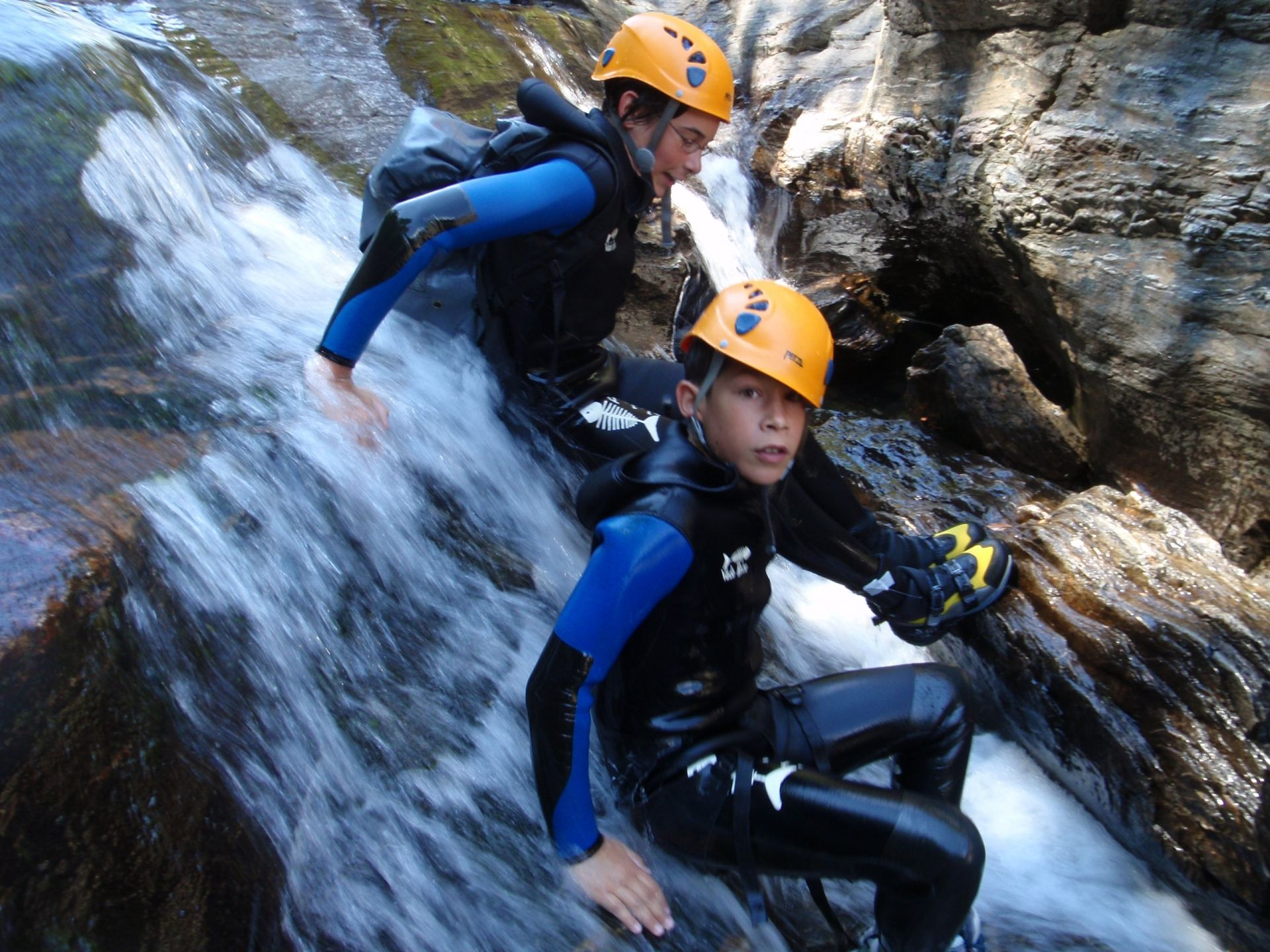 Canyoning en ardeche Canyon Roujanel